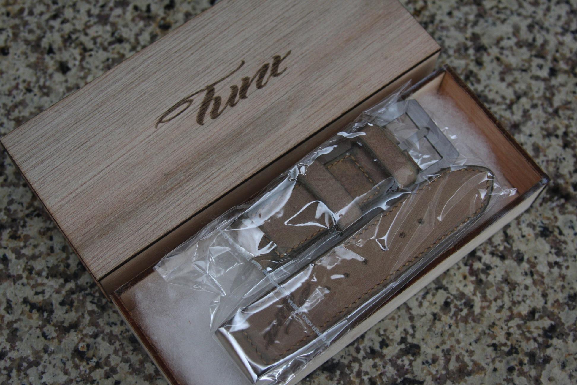 Panerai Strap Review – Tunx Natural Rotto