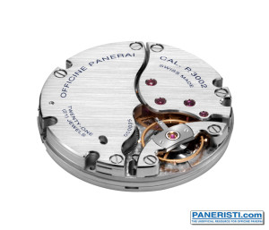 Panerai P.3002 Movement