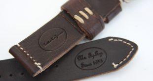 tip top leather panerai strap