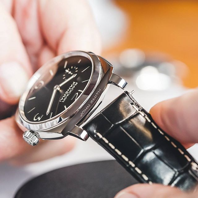Officine Panerai Engraving