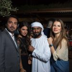 Gaby Bitarian (Commerial Manager, Rev (@istealwatches & @watchanish), Sultan, and Lama Karam (Marketing Exec)