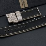 Brusnitcyn Grey Alligator Strap