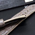 Brusnitcyn Grey Alligator Strap