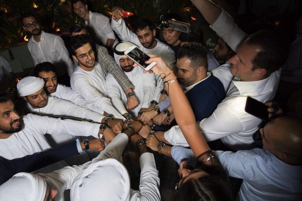 Panerai Wrist Shot Dubai