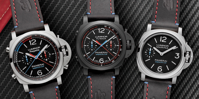 Panerai Teams Up With the America's Cup – Introduces 5 New Watches