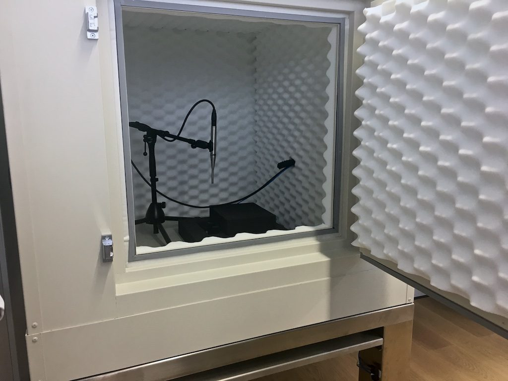 Panerai Minute Repeater Sound Booth