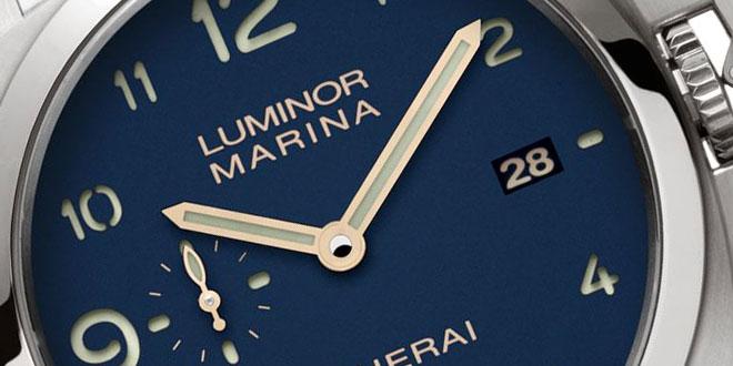 3d397ebe5e13 Panerai PAM745 Harrods Limited Edition Blue Dial Luminor Marina