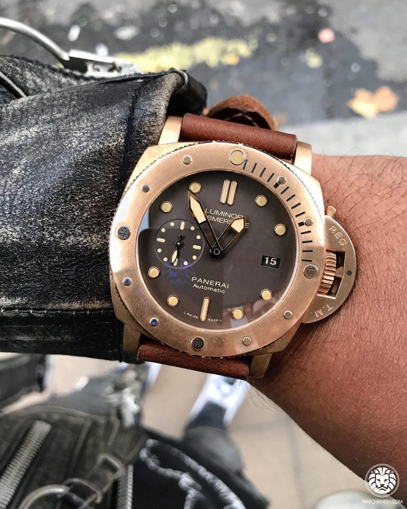 Panerai Bronzo Brown Dial