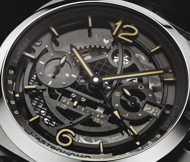 Panerai Takes You To The Moon With The PAM Panerai Central - Star map watch