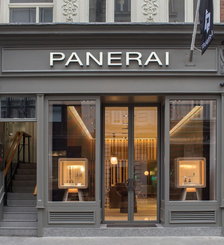 Panerai London Boutique Bond Street