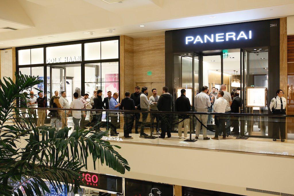 Panerai Central South Coast Plaza Event