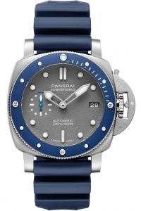 PAM959 Blue Ceramic Submersible