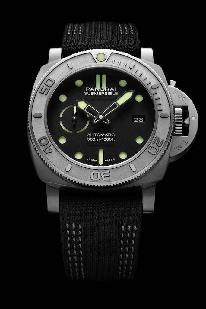 Military Time Clock >> PAM984 | PAM00984 Mike Horn 47mm Submersible - Panerai Central